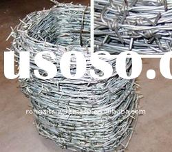 Galvanized And PVC Coated Barbed Iron Wire