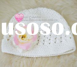 H05C020B Hand fashion Crochet Baby kufi Hats Beanie flower animalCotton Hat Beanie Cap