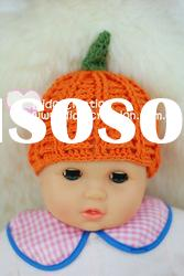 H05C028A Handmade fashion Crochet Baby's knitted Hats Cotton Hat Beanie Cap