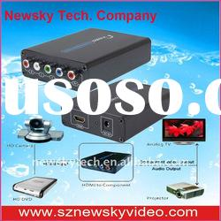 HDMI to Component Video + Stereo Audio Converter--NS384