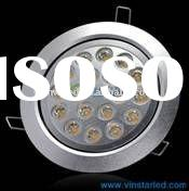 High power 18w ceiling lights save 75% energy than traditional