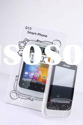 Hot G13 phone Dual sim card android 2.2 MTK 6516 GPS Android mobile phone
