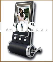 Hot Selling! Fashionable 2.4 inch LCD digital photo picture frame viewer