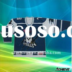 Ice hockey jersey with high quality sublimated printing