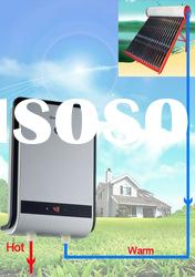 Instant electric water heater, solar water heater backup