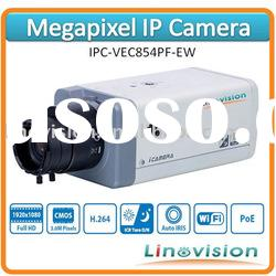 Latest 3.0 Megapixel IP camera with PoE and ICR true day/night, IPC-VEC854PF-E