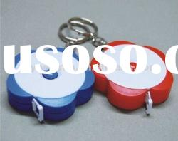 Mini kids tape measuring tape with keychain