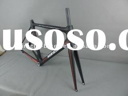 Miracle 2012 light weight carbon road bike frame, full carbon bicycle frame, full carbon road bike