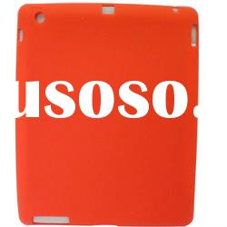 NEW Red SOFT SILICONE RUBBER CASE FULL BACK COVER FOR APPLE IPAD 2 PROTECTOR