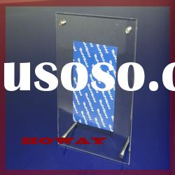 New Clear Acrylic photo Display Stand,acrylic holder,display holder,holder
