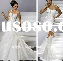 New Sleeveless Mermaid Plus size Wedding dress