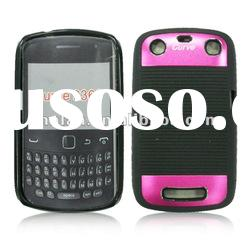 New cell phone case line tpu+aluminum case for blackberry 9360 ,most popular models are available !