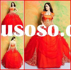 PYN2134 2012 New Brilliant Strapless Ball Gown prom quinceanera dresses