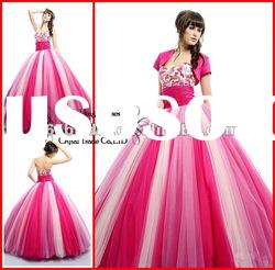 PYN2161 2012 Designer Sweetheart Tulle Ball Gown prom quinceanera dresses