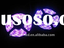Pink LED neon strip light for cars decoration