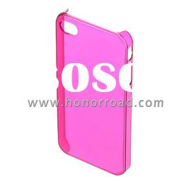 Pink Ultra Thin Crystal Case Cover for the iPhone 4