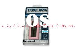 Portable power bank & phone charger power bank 5200mAh for iphone, ipad