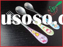 Printable and cheap Promotional stainless steel flatware set
