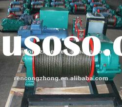 RCZA wire rope lifting winch,electric winch machine,windlass