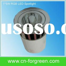 Remote Control 5W RGB LED Spotlight