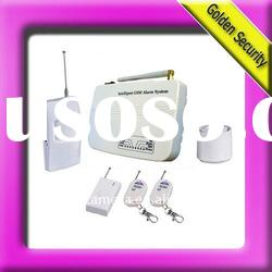Salable Home alarm system with fire alarm