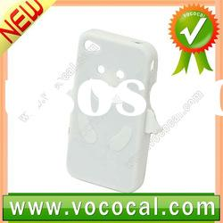 Silicone Front and Back Case for iPhone 4S 4GS