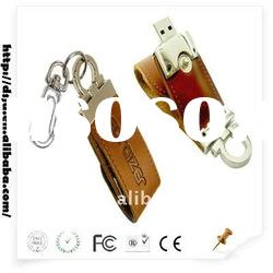 Simple ! Leather USB Flash Drives /1-32gb USB Memory Stick