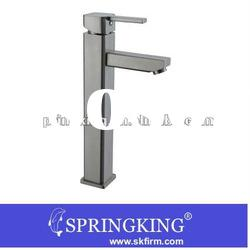 Square Long Style Bathroom Tap Kitchen Basin Mixer Tap sink faucet