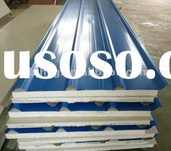Structural corrugated metal roof sandwich panels/sandwich boards