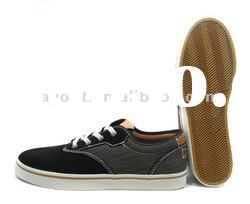 Suede casual vulcanized shoes