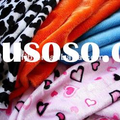 Super soft short plush fabric for Garment and Blanket