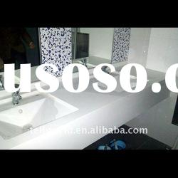 TW nice looking acrylic solid surface bathroom countertop artificial marble