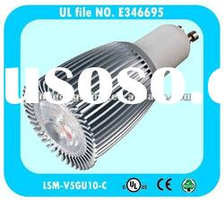 UL cUL listed CE SAA certificated GU10 3*3W high lumen LED spot lamp
