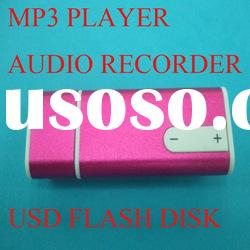 USB Voice recorder MP3 player Flash Drives