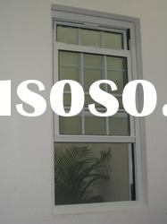 Vertical PVC Sliding Windows with double glass