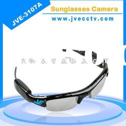 WOW, JVE-3107A HD usb sunglasses camera;sunglasses camera recorder;sunglasses voice recorder
