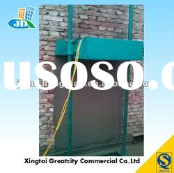 Wall plastering machine for cement