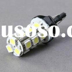 White T20 18 LED Car Bulbs SMD 7443 7440 for tail lights