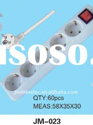 Yiwu No.1 multi electrical extension socket 5way electrical extension JM-023