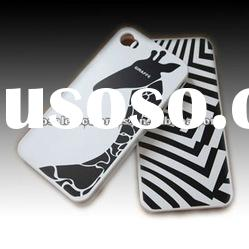 Zebra hard cover case for iphone 4 4g
