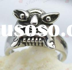 affordable stainless steel tiger designer rings