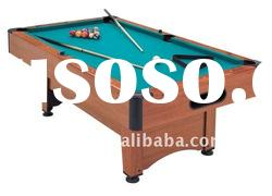 bumper pool table with auto ball-return system