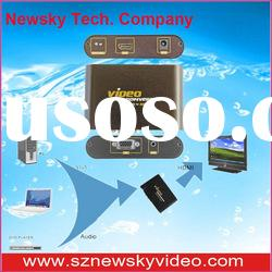 digital VGA HDMI Video converter with low price and good quality (NS-350)