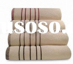 dobby solid color bath towel 100 cotton with border