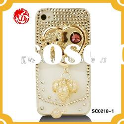 fashion diamond cell phone case for IPHONE4 CASE