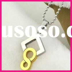fashion necklaces number charms pendants ball chain necklaces wholesale