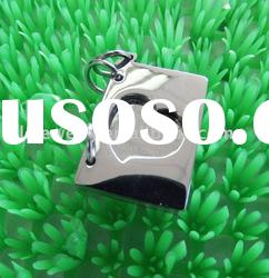 fashion stainless steel alloy pendant jewelry/charm pendant