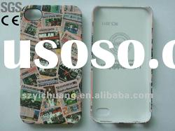 for phone accessory/hard case+water transfer printing+rubbrized