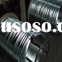 high tensile strength hot dipped galvanized steel wire rope