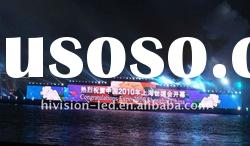 hot P10.66 outdoor full color rental LED display